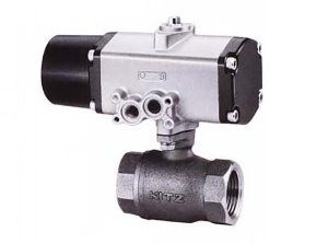 CS-TE, KITZ 2PC Compact Bronze Ball Valve (단동식,Single Acting)