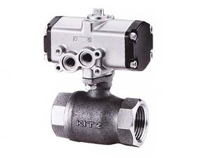 C-TE, KITZ 2PC Compact Bronze Ball Valve(복동식,Double Acting)
