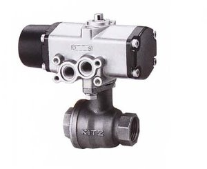 CS-UTFE, KITZ 2PC Compact SUS316 Full Bore Ball Valve(단동식,Single Acting)