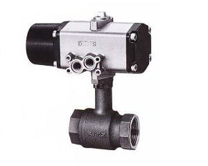 CS-TLE, KITZ 2PC Compact Bronze Long Neck Ball Valve(단동식,Single Acting)