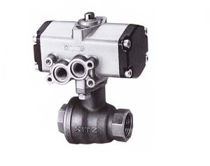 C-UTFE, KITZ 2PC Compact SUS316 Full Bore Ball Valve(복동식,Double Acting)