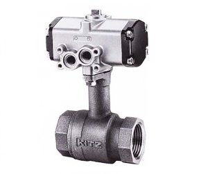 C-TLE, KITZ 2PC Compact Bronze Long Neck Ball Valve(복동식,Double Acting)