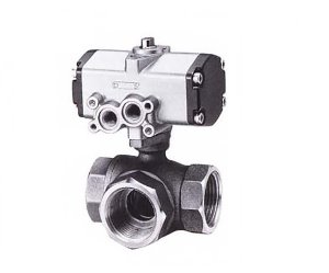 C-TNE,  KITZ 3Way Bronze Ball Valve(복동식,Double Acting)